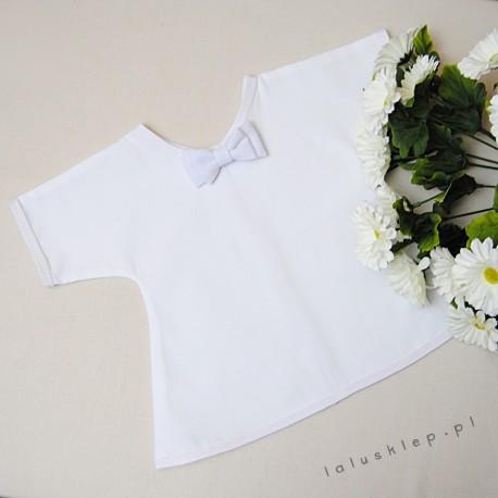 Szatka bawełniana, koszulka z muszką
