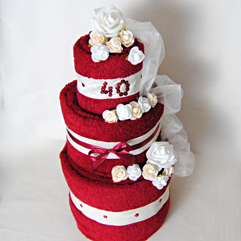 tort rubinowy